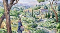 Un enotour in Toscana… A fumetti!