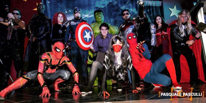 Real Avengers Italian Cosplayers