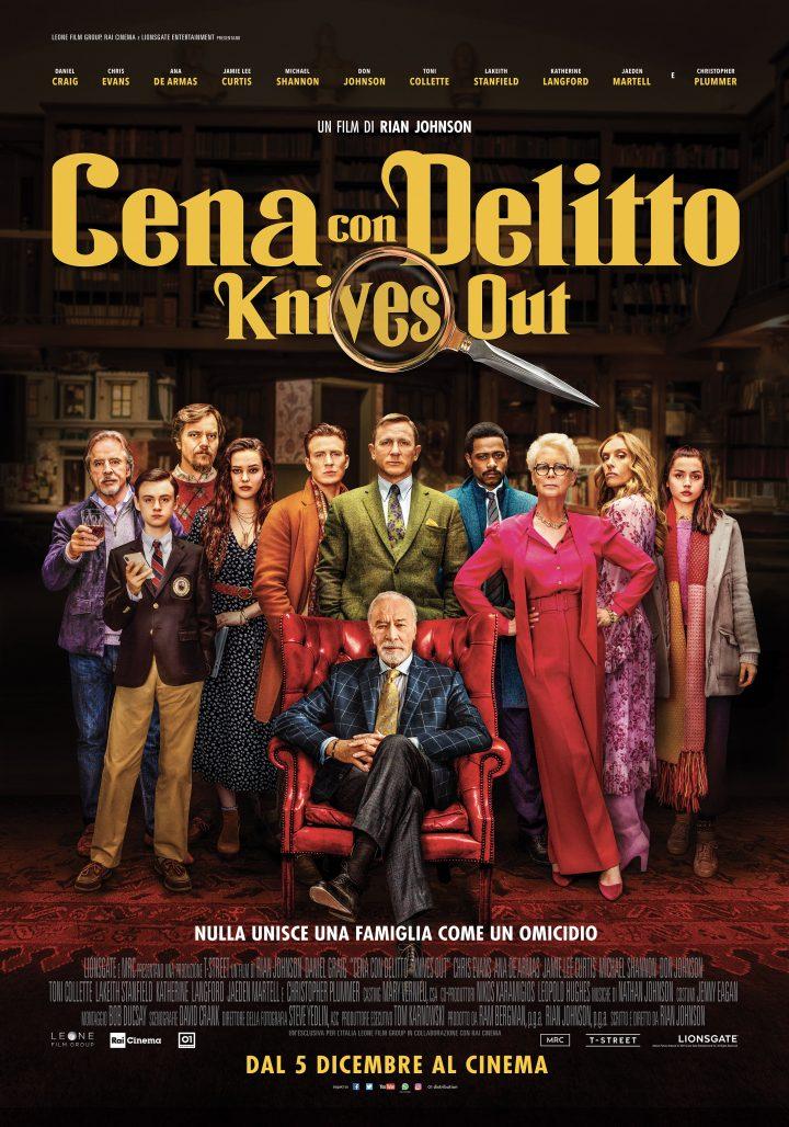 """""""Cena con Delitto"""" con DANIEL CRAIG, CHRIS EVANS, ANA DE ARMAS"""