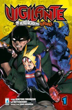"""Gli autori di """"Vigilante – My Hero Academia Illegals"""" a Comicon!"""