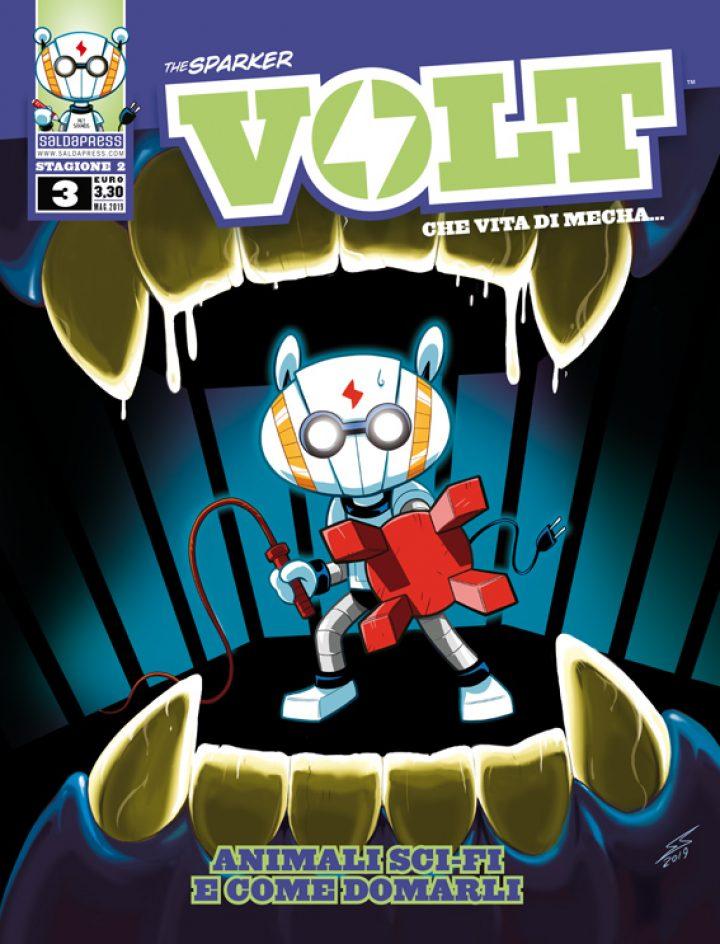 VOLT – CHE VITA DI MECHA: il terzo numero della seconda stagione