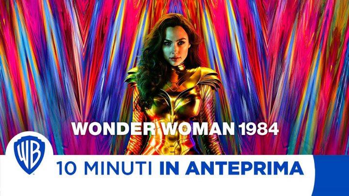 10 Minuti in Anteprima di Wonder Woman 1984