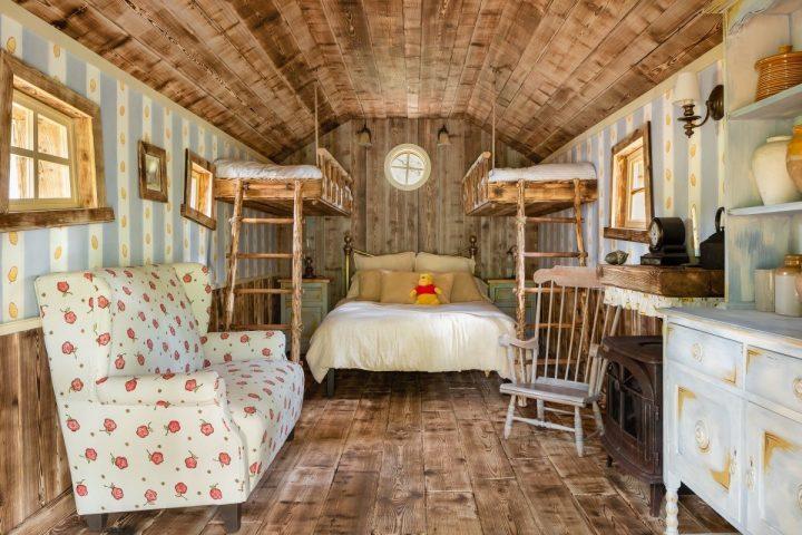 La casa di Winnie The Pooh su Airbnb