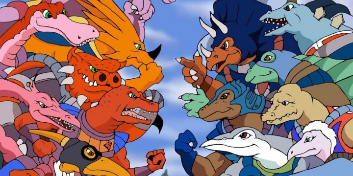 La serie animata dei Dinosaucers