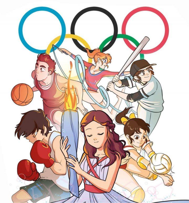 Le Olimpiadi secondo Tunué – Anime e Sport di Fabio Bartoli
