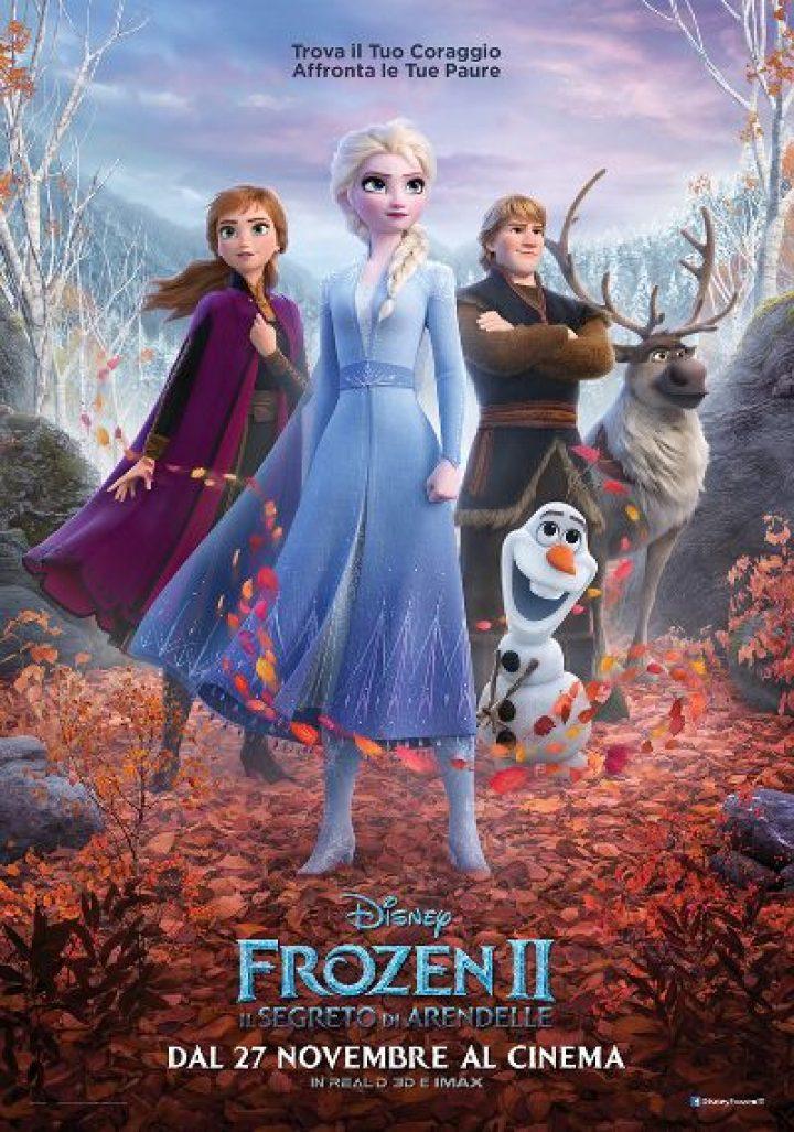 Frozen 2 – Il Segreto di Arendelle in arrivo domani in sala!