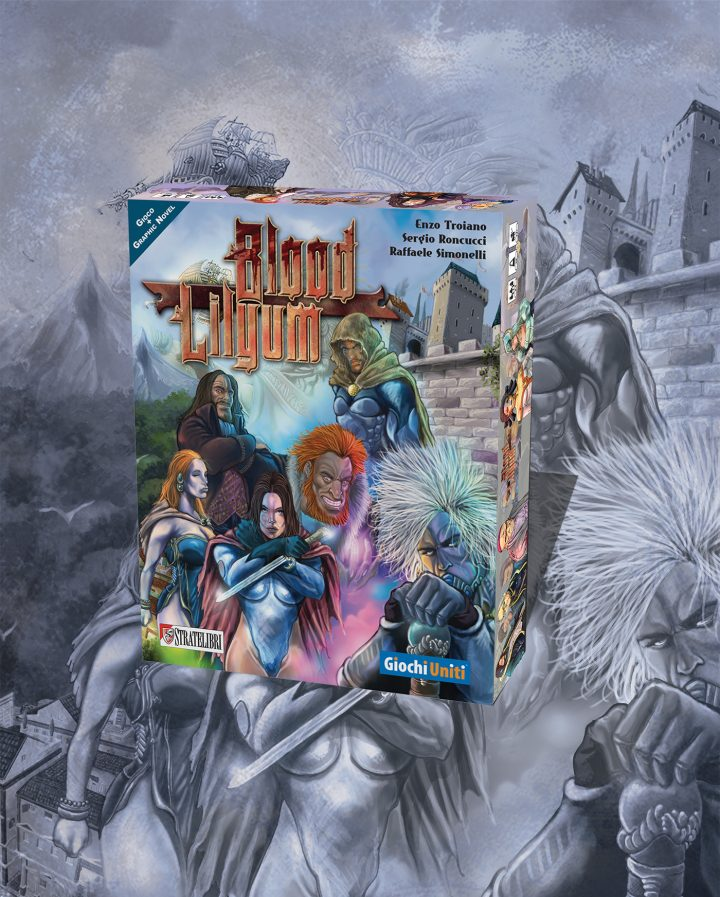 Blood Lilyum il mondo del fumetto incontra quello del gioco da tavolo