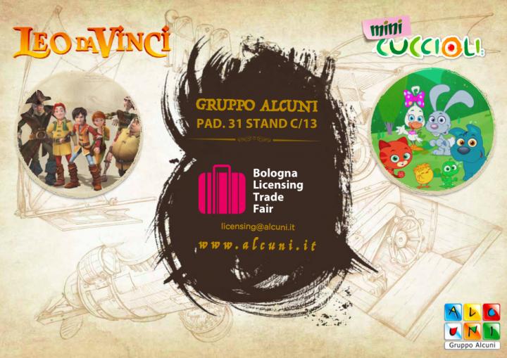 Leo da Vinci protagonista del Bologna Licensing Trade Fair 2019 | Gruppo Alcuni