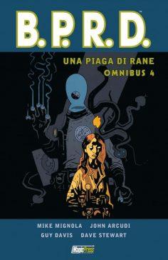 Quarto e ultimo volume della serie Omnibus dedicata al B.P.R.D.