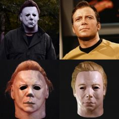 Michael Mayers: il volto del Capitano Kirk