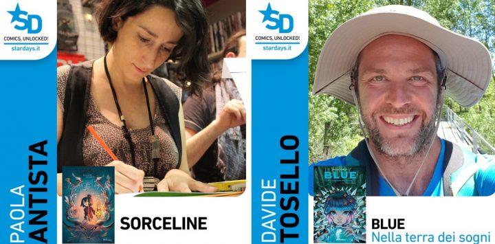 BLUE NELLA TERRA DEI SOGNI e SORCELINE .Disponibili gli sfoglia online dei primi volumi delle nuove serie Young Adult