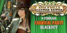 Cartoon party + SteamPunk Fashion Show at Blackout