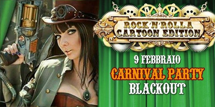 Cartoon party + SteamPunk Fashion Show at Blackout