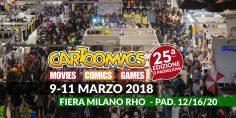 Cartoomics 2018: tutte le info!