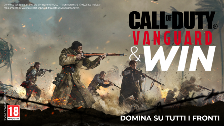 A partire da oggi un nuovo contest dedicato ai pre-order di Call of Duty Vanguard