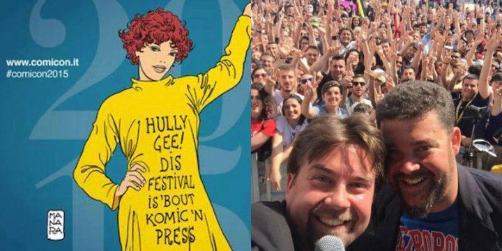 Napoli Comicon 2016, si parte