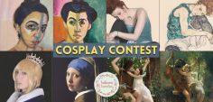Cosplay Contest Online dedicato all'Arte!