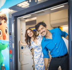 Luca, il film Disney e Pixar, presentato a Genova