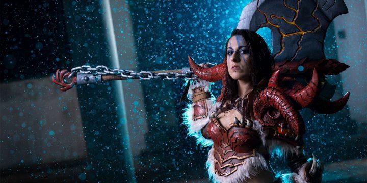 Eva, la grande cosplayer Asperatus Eve