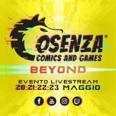 Cosenza Comics – Beyond online dal 20 al 23 maggio 2021