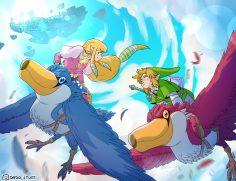 Sio, Dado's Stuff e A Panda Piace festeggiano Zelda
