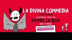La Divina Commedia illustrata male -inferno-