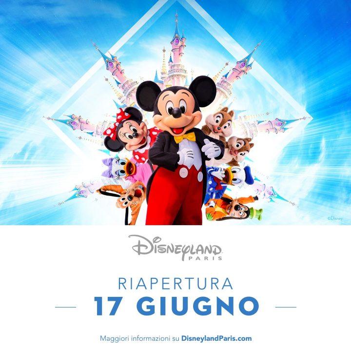 Disneyland Paris annuncia la riapertura!