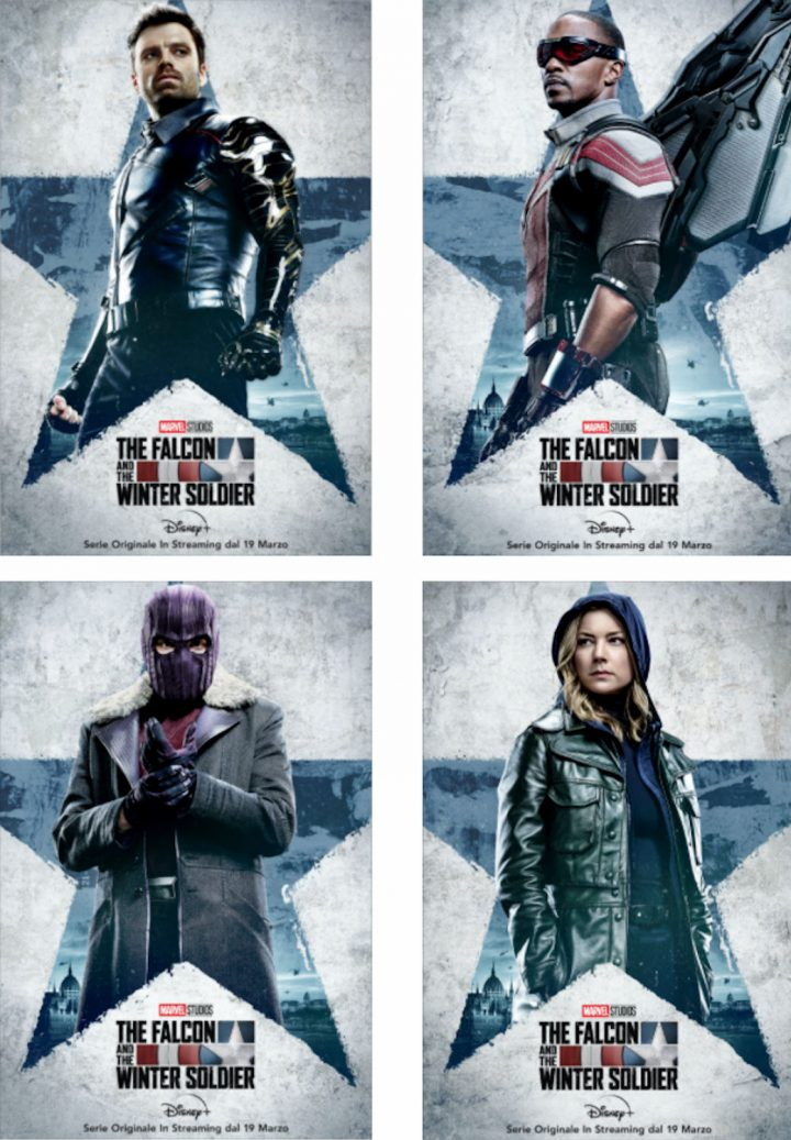 The Falcon and The Winter Soldier: i nuovi character poster