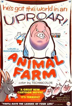 La fattoria degli animali – il film d'animazione del '54