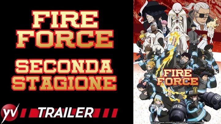 FIRE FORCE – I nuovi episodi in onda dal 3 luglio 2020 in simulcast!