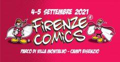 Firenze Comics torna il 4 e il 5 Settembre 2021