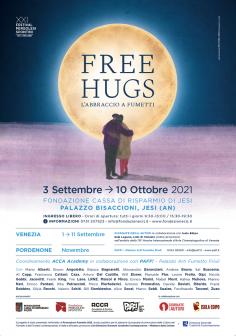 """La mostra Free Hugs sul podio di """"Promozione Fumetto 2021"""""""