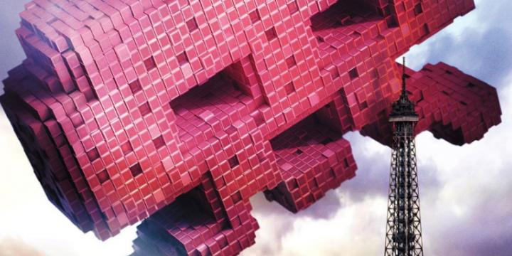 Pixels – il teaser poster