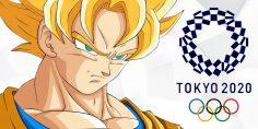Goku alle Olimpiadi … e non è solo!