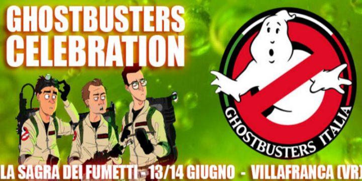 Ghostbusters Italia alla Sagra dei Fumetti