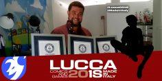 Gianluca Falletta a Lucca Comics & Games 2018