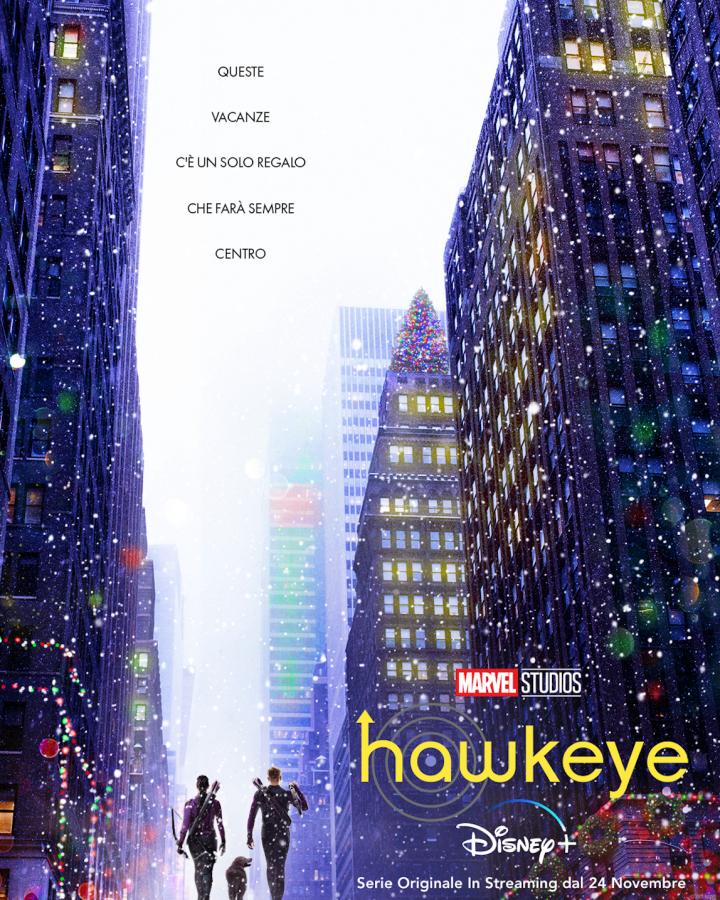 Hawkeye: Il trailer e il teaser poster