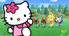 Hello Kitty in Animal Crossing: New Horizons
