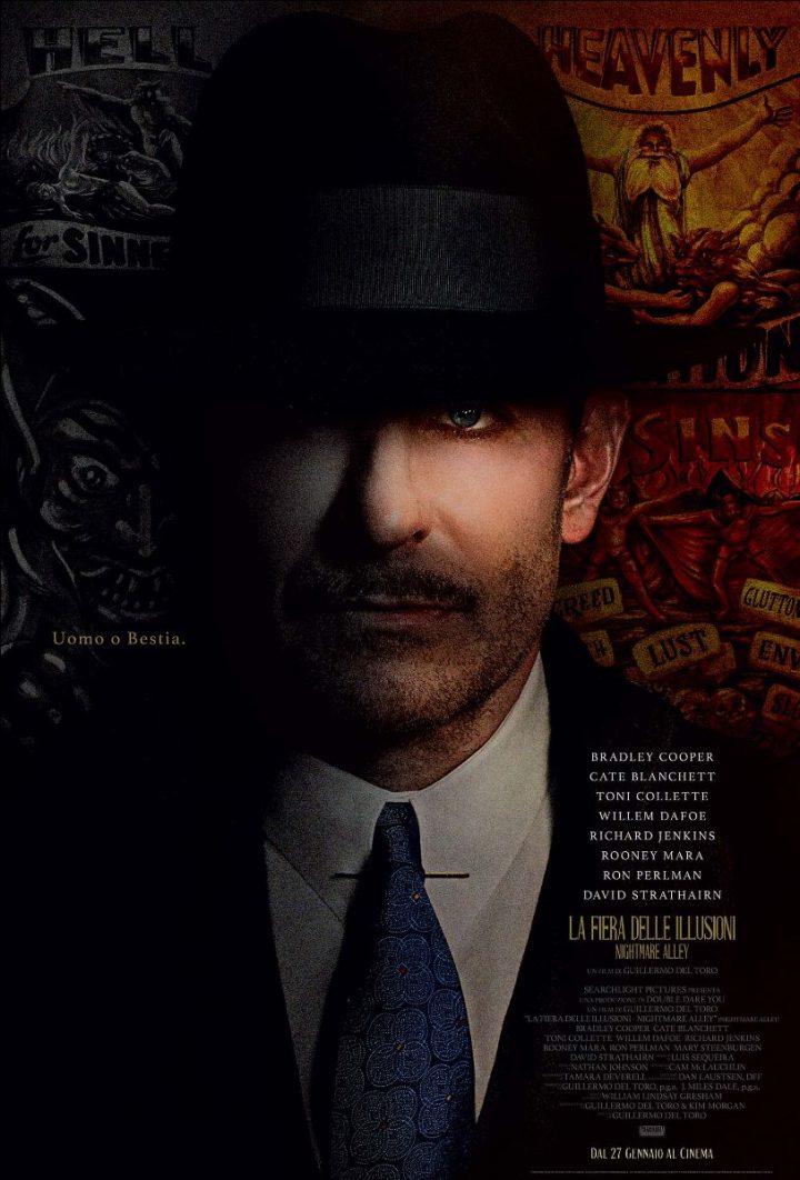 La Fiera delle Illusioni – Nightmare Alley al cinema dal 27 gennaio