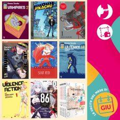 Edizioni BD & J-POP Manga: le uscite di giugno