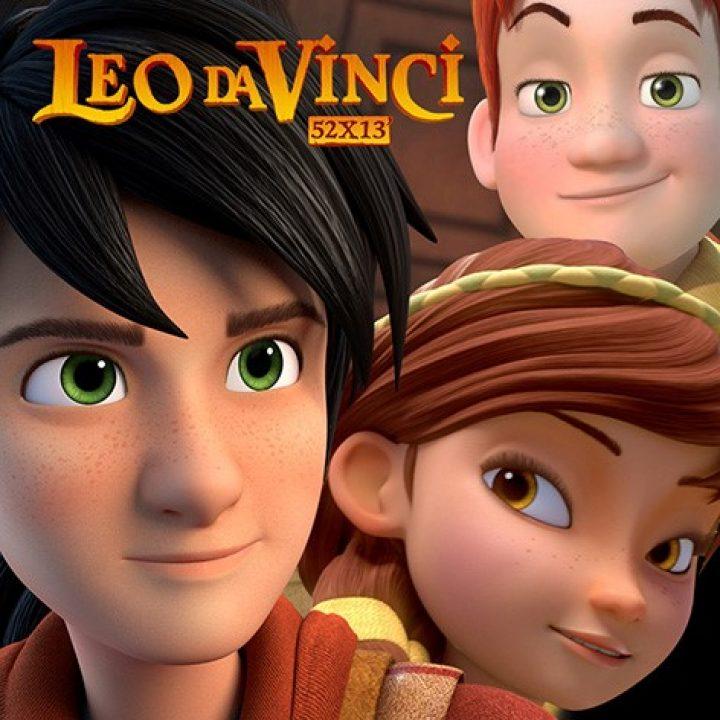 """Su RAI2 le nuove puntate della serie """"Leo da Vinci"""" di Gruppo Alcuni"""