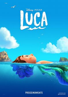 Luca: il primo poster e il trailer del film Disney Pixar