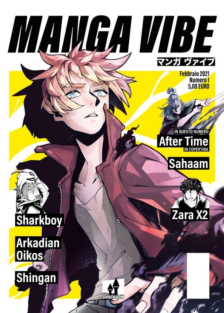 """Shockdom annuncia """"Manga Vibe"""", la prima rivista al 100% di manga italiano"""