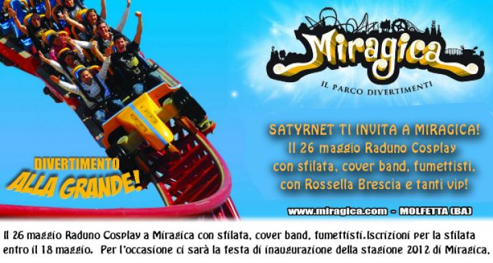 Inaugurazione Miragica: Raduno Cosplay