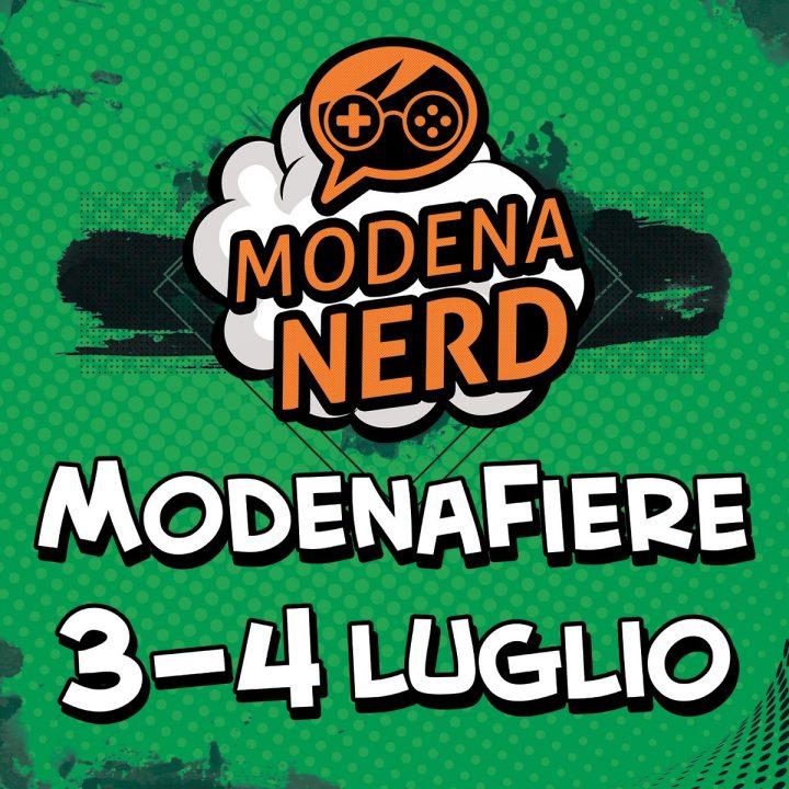 Modena Nerd: 3 e 4 luglio 2021