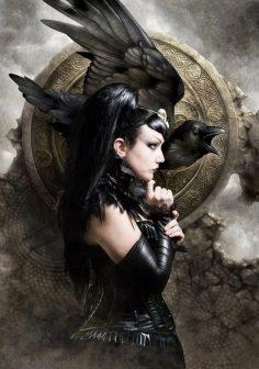 La Morrigan, la grande Regina della Guerra e degli Spettri
