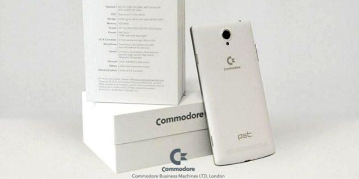 In arrivo il primo smartphone di Commodore