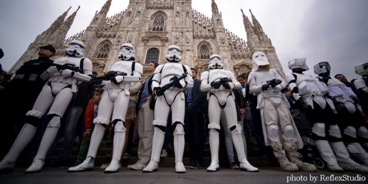 501st e Rebel Legion nell'evento musicale dell'anno