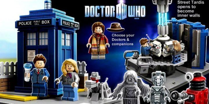 Lego presenta il Doctor Who