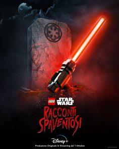 Lego Star Wars – Racconti Spaventosi. Il cast e il poster